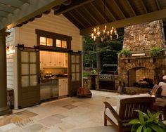 goed idee de keuken achter de deuren