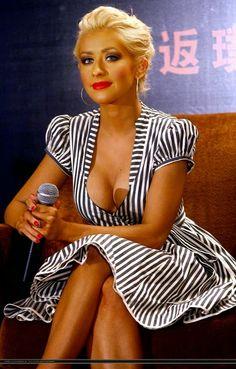Christina Aguilera Back to Basics Shanghai Tour Press Conference