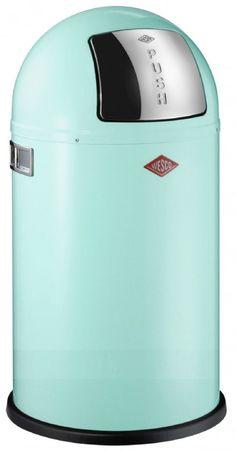 Wesco 175831-51 Pushboy MINT 50-Liter Mülleimer: Amazon.de: Küche & Haushalt