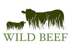 Wild Beef, logo design by © Allies Design Studio 2015.