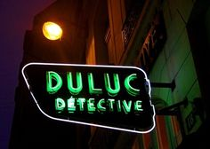 "The Duluc Detective Agency, Paris, France. ""The sign and doorway may look like part of a movie set, but they belong to one of the last — and oldest — private detective agencies in France."""