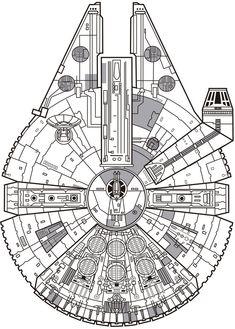 Millennium Falcon by jorgecopo                                                                                                                                                                                 More