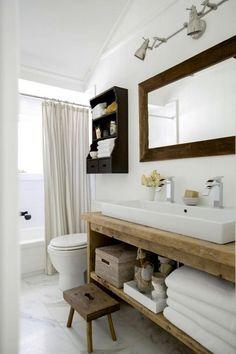 31+ Stunning Modern Country Style Bathrooms #bathroom #bathroomdecor #bathroomdecorideas
