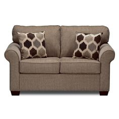 Living Room Furniture - Fletcher Twin Sleeper Sofa