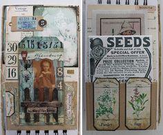 Vintage Inspired: seed storage