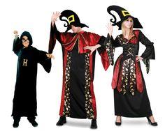 Costumes pour groupes Magiciens #familledéguisement #déguisementsgroupes
