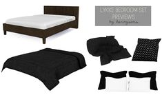 """Lykke"" bedroom set (TS4)My little hiatus was caused by moving to a new town, got a new job and I didn't have any motivation or inspiration the last few months to do anything sims related. I've just..."