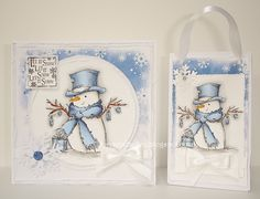 Mrs B's Blog: LOTV DT - Mr Snowman and a new FB challenge