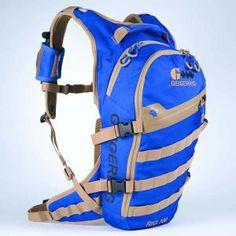 "The Geigerrig ""Rig"" 700 Hydration System, 70 oz., Blue/Tan in Color"