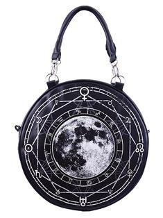 4c1f6195159 Henna Moon Round Purse - The Violet Vixen. Dorothy van Dongen ·