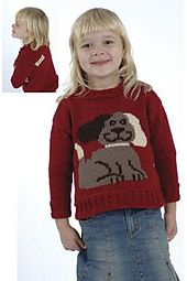 Dog & Bone Sweater by Jodi Snyder for Plymouth Yarn Company