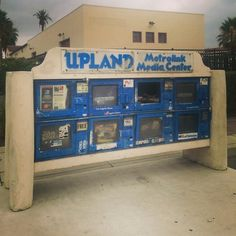 Upland Metrolink media center in Downtown Upland, California, 2014 #dtupland