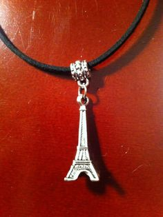 Detailed and beautiful 3-dimensional Eiffel Tower charm, approx 2 inches with…