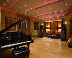 Music Studio Design, Pictures, Remodel, Decor and Ideas