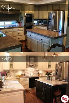 10 best before and afters kitchen remodeling images cool rh pinterest com
