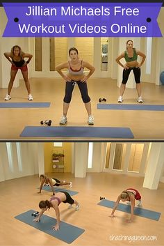 FREE Jillian Michaels Workout Videos Online - Health | Fitness | Save Money
