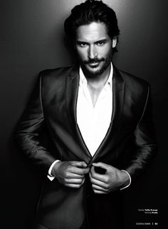 Joe Manganiello has been killing it on the Magic Mike press tour. Totally hilarious and silly. Also, he is 6'5 which is perfect. So, yeah. Not just Owen the bartender anymore...
