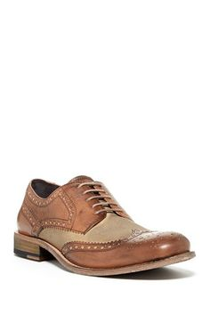 00d795ea7 Kenneth Cole Mind Tricks Wingtip Blucher by Kenneth Cole on  HauteLook  Dapper Gentleman