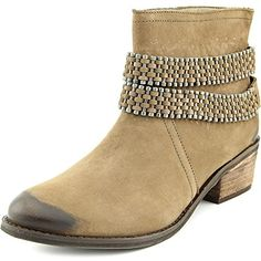 Planet Round Toe Leather Ankle Boot -- See this great product. (This is an affiliate link) #AnkleBootie