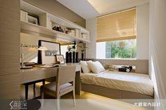 15坪可以這麼「型」!雙臥房+完美收納機能