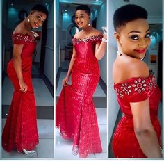 It's time for a new edition! An is a wedding guest {bella} looking stunning in aso-ebi – the fabric/colours of the day, at a - AsoEbi Bella. Long Prom Dresses Uk, African Bridesmaid Dresses, African Lace Dresses, Prom Dresses With Sleeves, African Dresses For Women, African Attire, African Women, African Fashion Ankara, Latest African Fashion Dresses