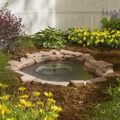 1000 images about favorite places spaces on pinterest for Outdoor goldfish pond ideas