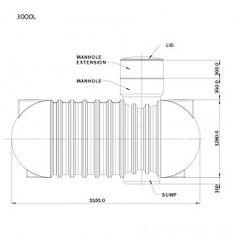 H: Promax Underground Tank 3000 Lt