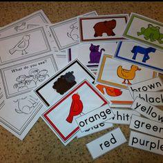 Brown Bear, Brown Bear. Learning colors.