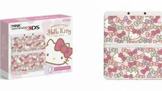 Since Hello Kitty is put on just about anything, a Hello Kitty New Nintendo 3DS was only a matter of time.