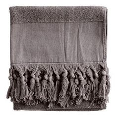 tine k home badehåndklæde grå