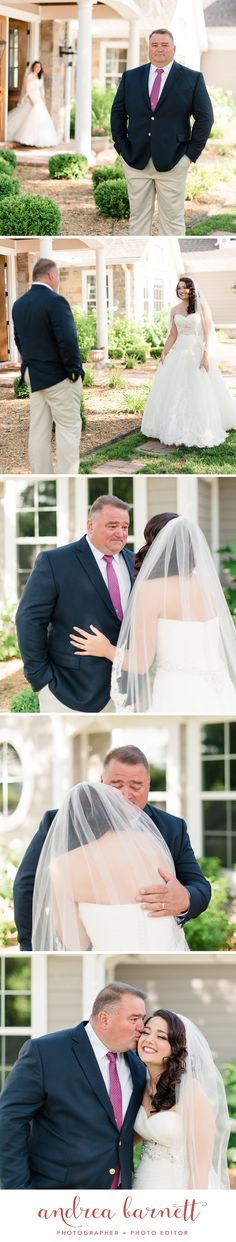 First look with bride and dad. Such a happy moment! Happy Moments, One And Only, Photo Editor, Tulle, In This Moment, Bride, Skirts, Photos, Fashion