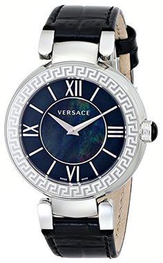 Versace Women's VNC010014 Leda Analog Display Swiss Quartz Black Watch Versace http://www.amazon.com/dp/B00KACJ626/ref=cm_sw_r_pi_dp_ykbPtb17N367ZMEP