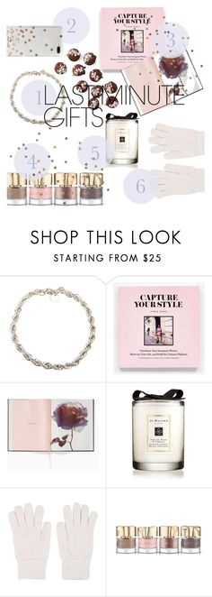 """#PolyPresents: Last-Minute Gifts"" by terasasmith ❤ liked on Polyvore featuring Tiffany & Co., Jo Malone, Gentryportofino, Smith & Cult, Kate Spade, contestentry and polyPresents"