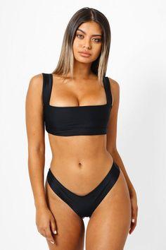 e748dec0e83aad #EnvyWe #Bikini.com Womens - KAOHS Hampton Back Tie Bikini Top - Black