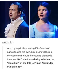 This is what made me intrigued by the play in the first place tbh :))))