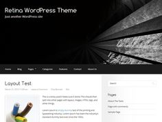 WordPress › Retina « Free WordPress Themes