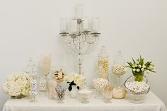 White Candy Buffet starring Nuts.com  #nutsdotcom and #wedding