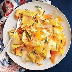 Butternut & Sage Pappardelle -- an autumnal treat!