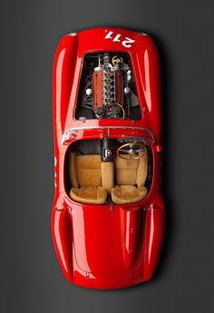 1957 #Ferrari 625 TRC Spider #italiandesign