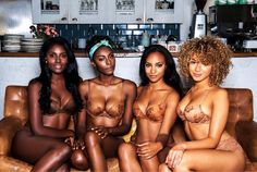 """A lingerie brand for women of color! Nubian Skin has launched a lingerie collection available in four """"nudes"""" that suit darker skin tones. Black Is Beautiful, Beautiful People, Beautiful Women, Beautiful Body, Black Girls Rock, Black Girl Magic, Brown Girl, Brown Skin, Dark Skin"""