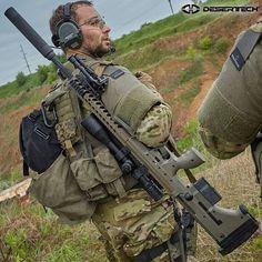 @Regrann from @desert_tech -  HUMP DAY With the Desert Tech SRS in .338 Lapua Magnum and DTSS Titanium Suppressor. #deserttech #tomorrowsweapons #Regrann