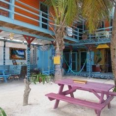 Yuma's House in Caye Caulker-best hostel in all of Belize! Less than 13$US/night :)