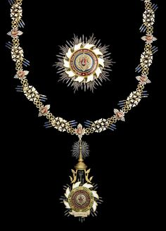 Spink Auction: 17001 - Orders, Decorations and Medals  Lot: 413 (x) The magnificent Thai Order of the Royal House of Chakri attributed to Sultan Fuad I, King of Egypt and Sudan