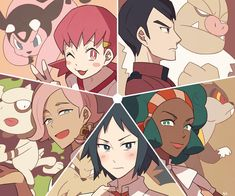 pokemon sun and moon, team skull, guzma, botw Pokemon Firered, Pokemon People, Type Pokemon, Pokemon Memes, Pokemon Fan Art, Cool Pokemon, Pokemon Champions, Pokemon Collection, Gym Leaders