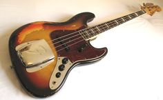 a beautiful vintage fender jazz bass......