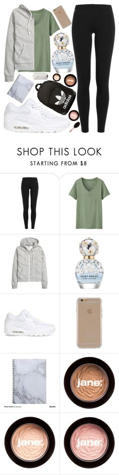 """""""Fall 3》"""" by beautybyee ❤ liked on Polyvore featuring Polo Ralph Lauren, Uniqlo, H&M, Marc Jacobs, NIKE, Agent 18, adidas Originals and jane"""