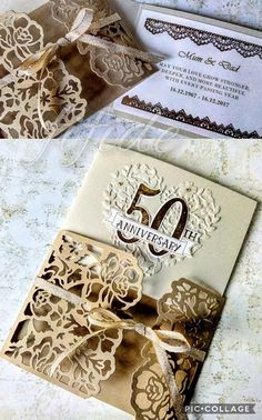 Stampin' Up Detailed Floral Thinlets & Bloomington Hearts, wedding anniversary card 50th Anniversary Cards, Creative Cards, Card Holders, Stampin Up, Hearts, Bloom, Gift Wrapping, Tags, Floral