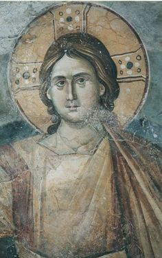 Lord Jesus Christ the Angel of the Great Concil Fresco, Byzantine Icons, Byzantine Art, Early Christian, Christian Art, Tempera, Best Icons, Art Icon, Orthodox Icons