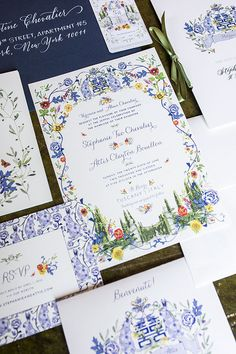 This Idyllic Tuscan Wedding Has Our Hearts Illustrated Wedding Invitations, Cheap Wedding Invitations, Wedding Stationary, Chinese Wedding Invitation Card, Invitations Online, Wedding Paper, Wedding Cards, Wedding Table, Wedding Phrases