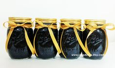 Black and Gold Party Decor Graduation Party Wedding by LimeAndCo